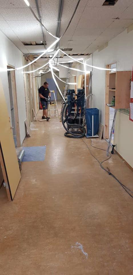 Rivningen är nu klar på etappen 2 Polhemsskolan. Nu startar återuppbyggnad. Go... 2