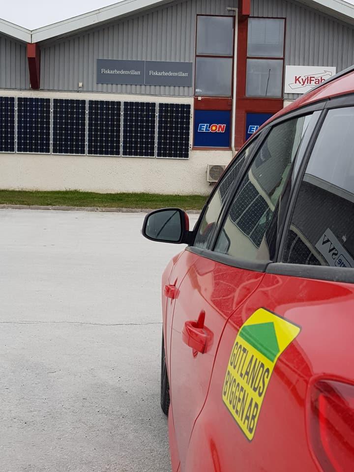 Idag har Gotlandsbyggen varit i Slite hos Fiskarhedenvillan och haft startmöte... 5