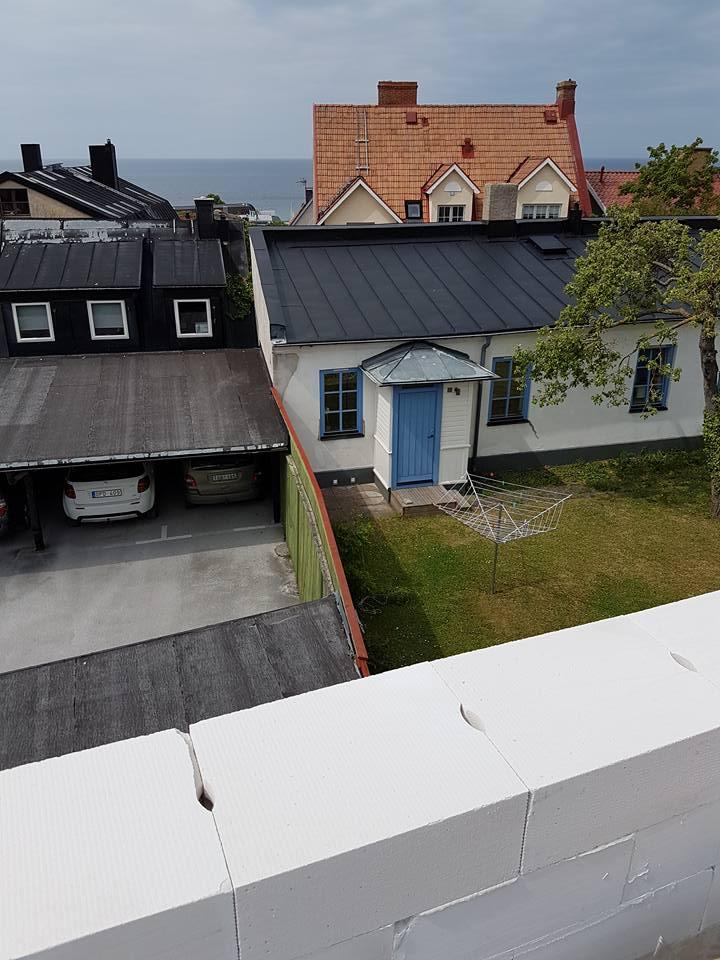 Villaprojektet Ringaren 4 i Visby har startat med rasande fart. Villan skall s... 3