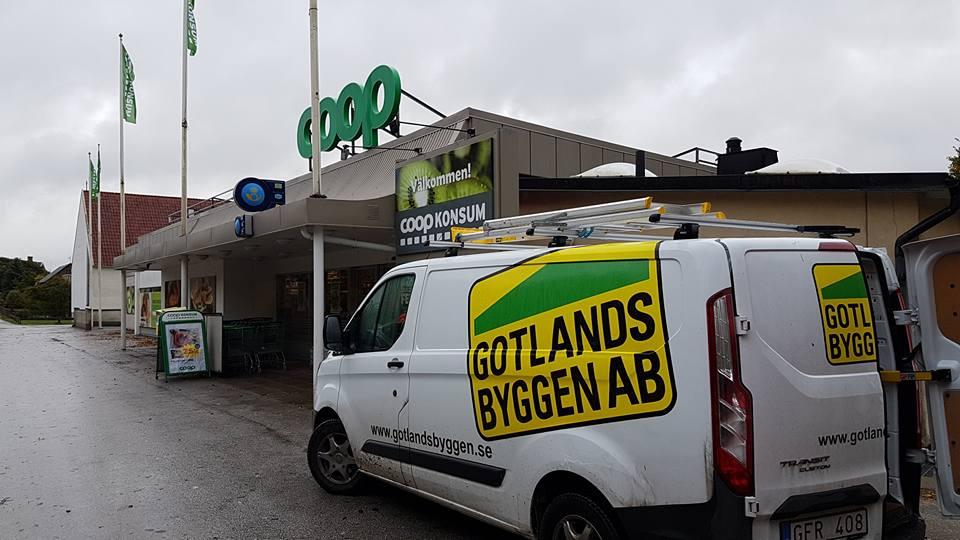 Träffade på en av servicebilarna på Hemse idag. De utför service och underhål... 1