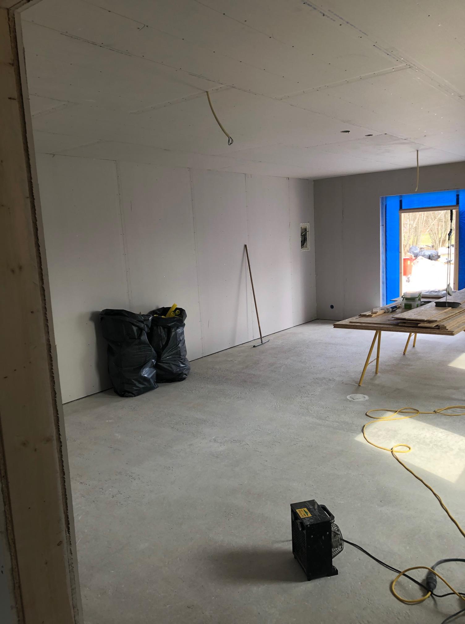 Vi bygger ytterliggare en villa i östergarn denna gång i samarbete med Fiskarhed... 4